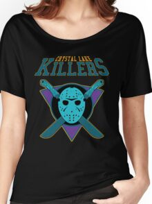 Crystal Lake Killers (NES Variant) Women's Relaxed Fit T-Shirt