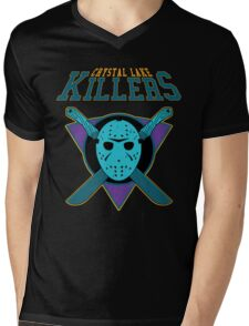 Crystal Lake Killers (NES Variant) Mens V-Neck T-Shirt