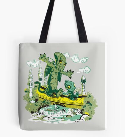 DAGONIN AND CTHULOBBES Tote Bag