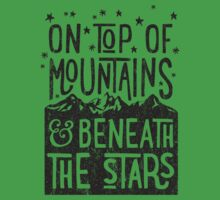 On Top Of Mountains Kids Clothes
