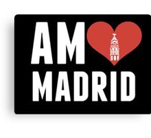 Am♥ Madrid Canvas Print