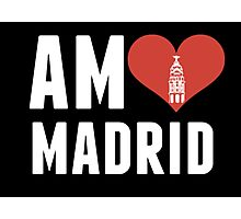 Am♥ Madrid Photographic Print