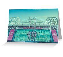 The United Trinity, Old Trafford Greeting Card