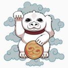 Lucky Dragon - STICKER by Mandrie
