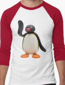 Pingu Men's Baseball ¾ T-Shirt