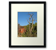 Will Spring Come? Framed Print