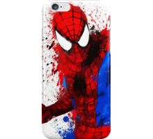 """Spider-Man"" Splatter ARt iPhone Case/Skin"
