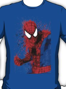 """Spider-Man"" Splatter ARt T-Shirt"