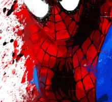 """""""Spider-Man"""" Splatter ARt Sticker"""