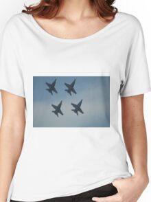4 Jets. Women's Relaxed Fit T-Shirt
