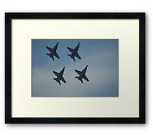 4 Jets. Framed Print