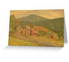 Grampa and Grama's Farm Greeting Card
