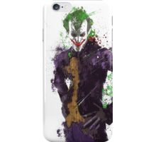"""The Joker"" Splatter Art iPhone Case/Skin"