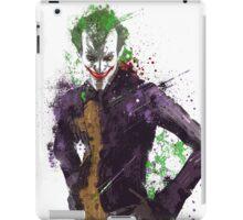 """The Joker"" Splatter Art iPad Case/Skin"