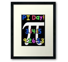 PI Day! Framed Print