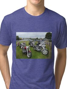 Motor Bikes. Tri-blend T-Shirt
