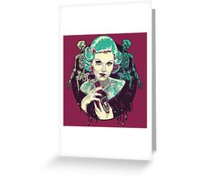 Poisoned Plum Greeting Card