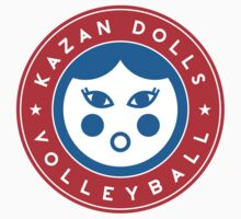 Kazan Dolls Volleyball by JamesShannon