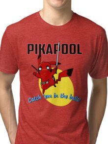 Pikapool Tri-blend T-Shirt