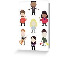 The Parks and Rec Family Greeting Card