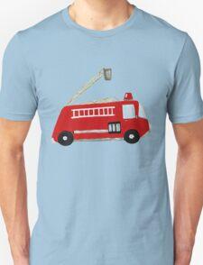 Unique red fire truck design T-Shirt