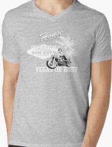 vegas or bust Mens V-Neck T-Shirt