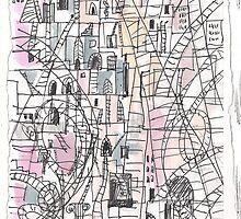 COMPLICATED CITY(C2012) by Paul Romanowski