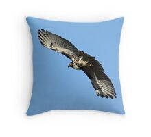 Red Tailed Hawk Majestic Throw Pillow