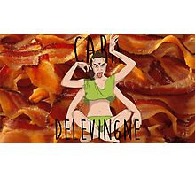 CD BACON MONSTER Photographic Print