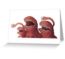 Deadly spawn Greeting Card