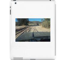 Driving in river. iPad Case/Skin