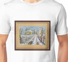 Winter at the Village Unisex T-Shirt