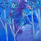 Wind in the Trees by Erin DuFrane Art