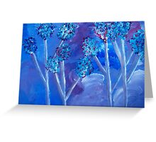 Wind in the Trees Greeting Card