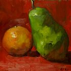 Pears #4 by Les Castellanos