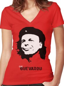 Che Guevarou Women's Fitted V-Neck T-Shirt