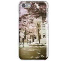 Springtime Ped Mall iPhone Case/Skin