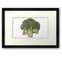 Broccoli Builder Framed Print
