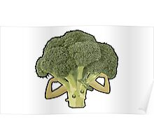 Broccoli Builder Poster