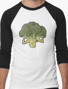 Broccoli Builder Men's Baseball ¾ T-Shirt