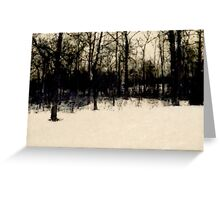 Standing together Greeting Card