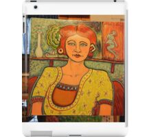 the red head iPad Case/Skin