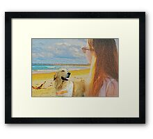 A point of view Framed Print