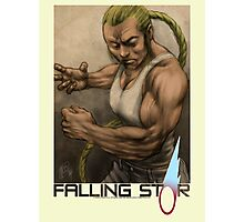 Falling Star, Character Series - 'JUSTICE' Photographic Print