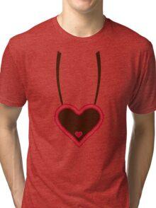 Oktoberfest lebkuchen heart Tri-blend T-Shirt