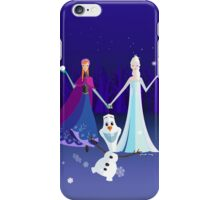 Origami - Do you want to build a snowman iPhone Case/Skin