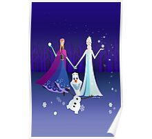 Origami - Do you want to build a snowman Poster