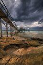 Dark Jetty Skies by Robert Mullner