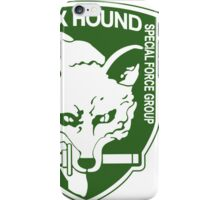 FOX HOUND Special Force Green  iPhone Case/Skin
