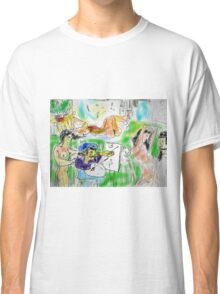 IN THE ARTISTS STUDIO(DIGITAL)(NOT FINISHED)(2004) Classic T-Shirt